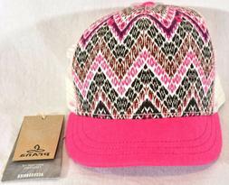 Prana Gidget Trucker Hat Boysenberry Tempo One Size