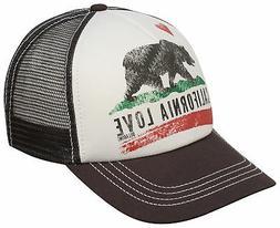 Billabong Girl's Pitstop Trucker Hat - Charcoal - New