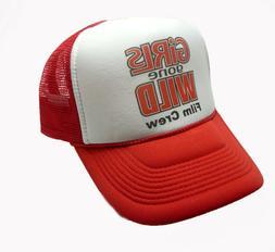 Girls Gone Wild hat trucker hat film crew hat Original adjus
