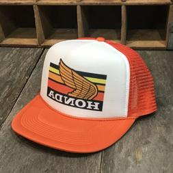 gold wing motorcycle vintage 80s trucker hat