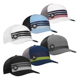 golf 3 stripes trucker adjustable snapback cap