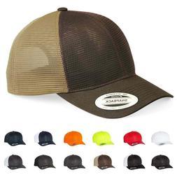 Yupoong Golf Classics Snapback 360 Omnimesh Trucker Hat, Bas