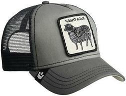 Goorin Bros. Men's Animal Farm Snap Back Trucker Hat, Gray S