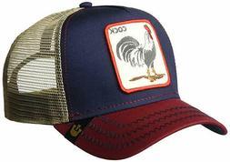 Goorin Bros. Men's Prideful Animal Farm Trucker Cap, Black,