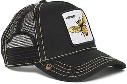 Goorin Bros. Men's Queen Bee Animal Farm Trucker Cap, Black,