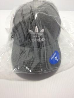 Adidas Gray  Cap/Trucker  Hat  New in bag. Adjustable Fit-CJ