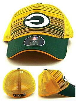 Outerstuff Green Bay Packers New Youth Kids Striped Mesh Gre
