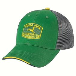 JOHN DEERE GREEN VINTAGE LOGO TRADITIONAL TRUCKERS PUNK EMO