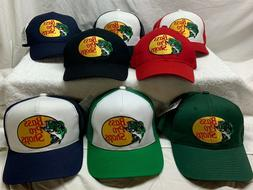 Bass Pro Shops Hat Embroidered or Silk screen Logo Mesh Fish