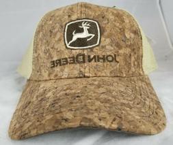 John Deere Hat, John Deere Trucker hat. 13080221.  NWT. Brow