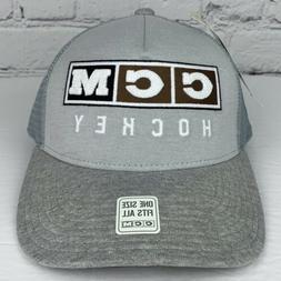 CCM Hockey Hat Snapback Mesh Back Baseball Trucker Cap Embro