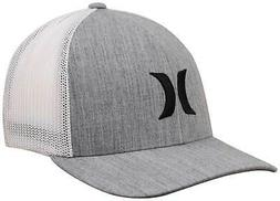Hurley Icon Textures Trucker Hat - Cool Grey - New
