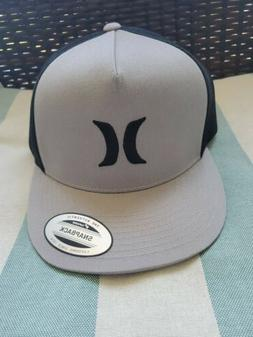 Hurley Icon Textures Trucker Hat - Cool Grey - New L/XL