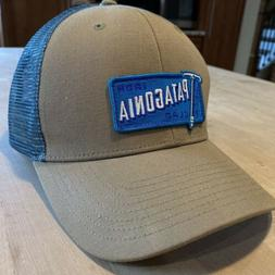 Patagonia Iron Clad 73 Trucker Hat - New Without Tags - Ash