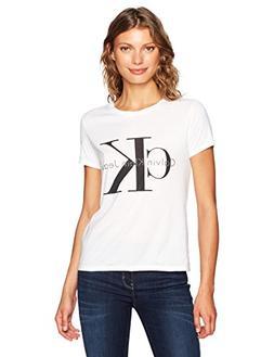 Calvin Klein Jeans Women's Short Sleeve Monogram Logo T-Shir