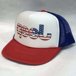 Jeep Trucker Hat Vintage 80's Style Mesh Back Snapback Cap