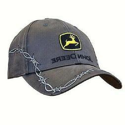 #JOHN DEERE BARB WIRE TRUCKERS PUNK EMO HAT CAP