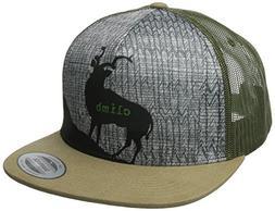 prAna Men's Journeyman Trucker Hat, One Size, Dark Khaki