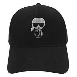 Karl Lagerfeld Baseball Cap Embroidery 100% Cotton Men Women