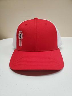 Kenworth Richardson 115 Low Profile Trucker Hat Red/White