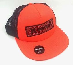 Hurley Kids' Boys' Youth Mesh Trucker Hat Cap - Bright Crims