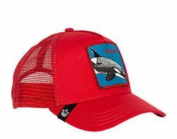 Goorin Bros Killer Whale Men's Trucker Hat 101-0626-RED One