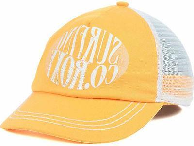 100% Authentic NWT Surf So Local Women's Hat Orange Snapback