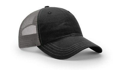 RICHARDSON 111 GARMENT WASHED TRUCKER BASEBALL CAP HAT