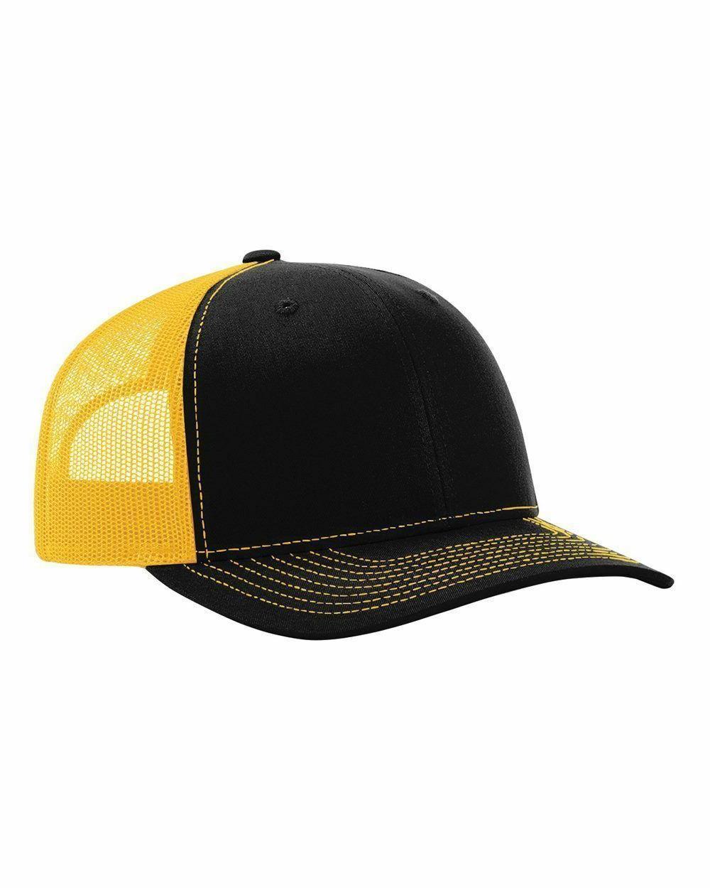 f868cf6737619 Richardson Trucker Ball Cap Mesh back Hat Snapback