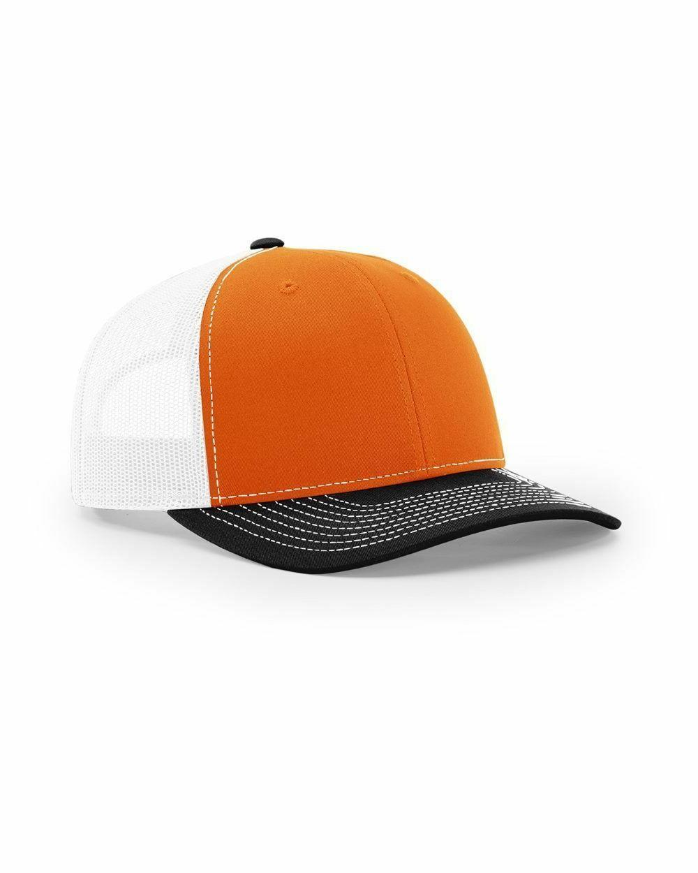 2236ab97f75b2 Richardson Trucker Ball Cap Mesh back Hat Snapback