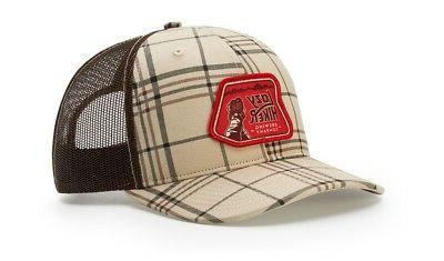 RICHARDSON 112P PRINTED TRUCKER BASEBALL CAP HAT