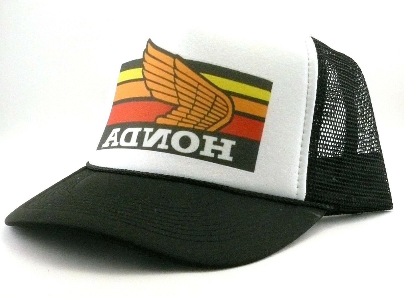 1980's Honda Trucker Hat mesh hat snap New