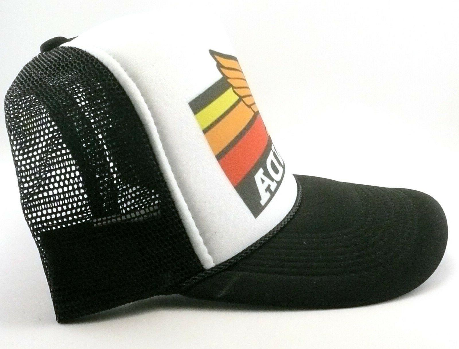 1980's motocross Hat mesh back black New