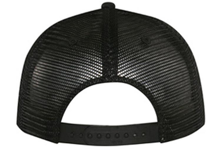 1980's Honda motocross Trucker Hat mesh hat back hat black New