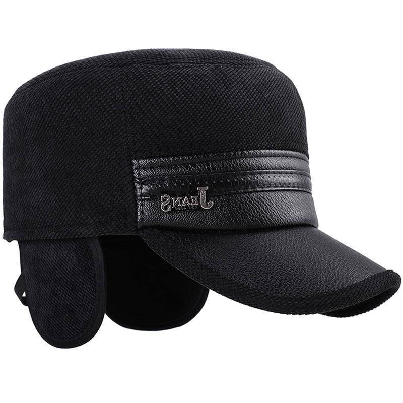 2019 Men Pu Leather <font><b>Baseball</b></font> Caps Brand Snapback Dad <font><b>hats</b></font> Trucker Cap gorras