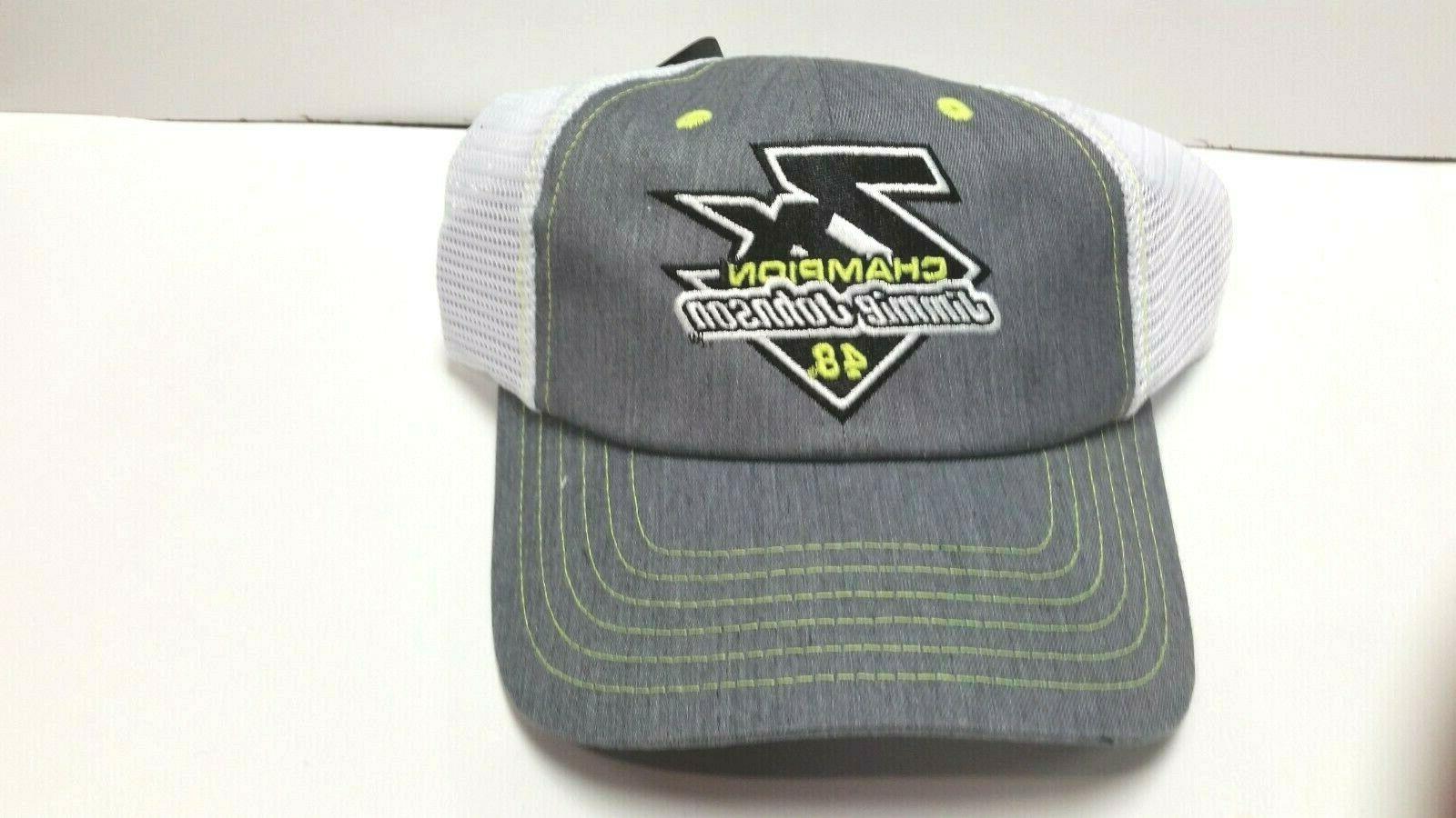 2020 jimmie johnson 7x champion trucker mesh
