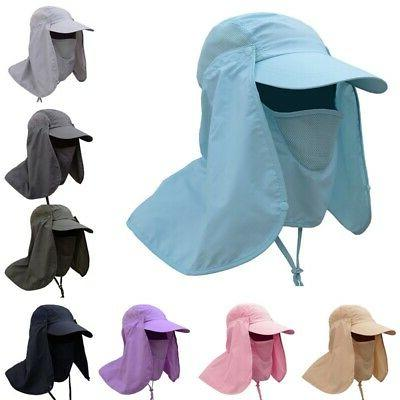 360outdoor uv protection cover sun hat cap