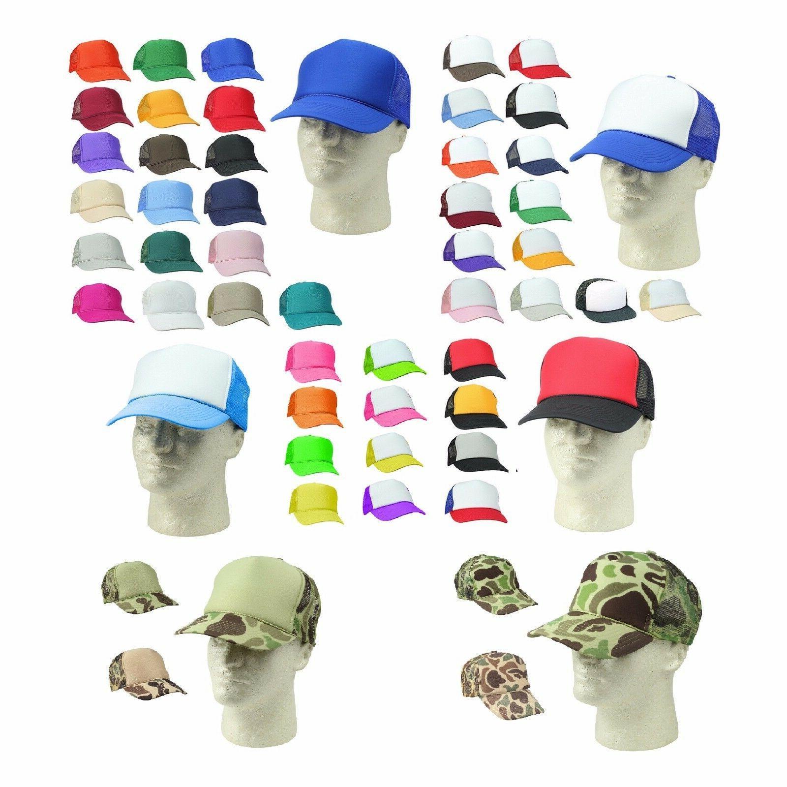 6 pack half dozen trucker hat baseball