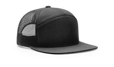 RICHARDSON 958 7 PANEL TRUCKER BASEBALL CAP HAT