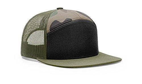 958 osfm black green camo loden