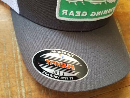 Columbia Mesh Trucker Hat Grill Trio Flexfit L/XL