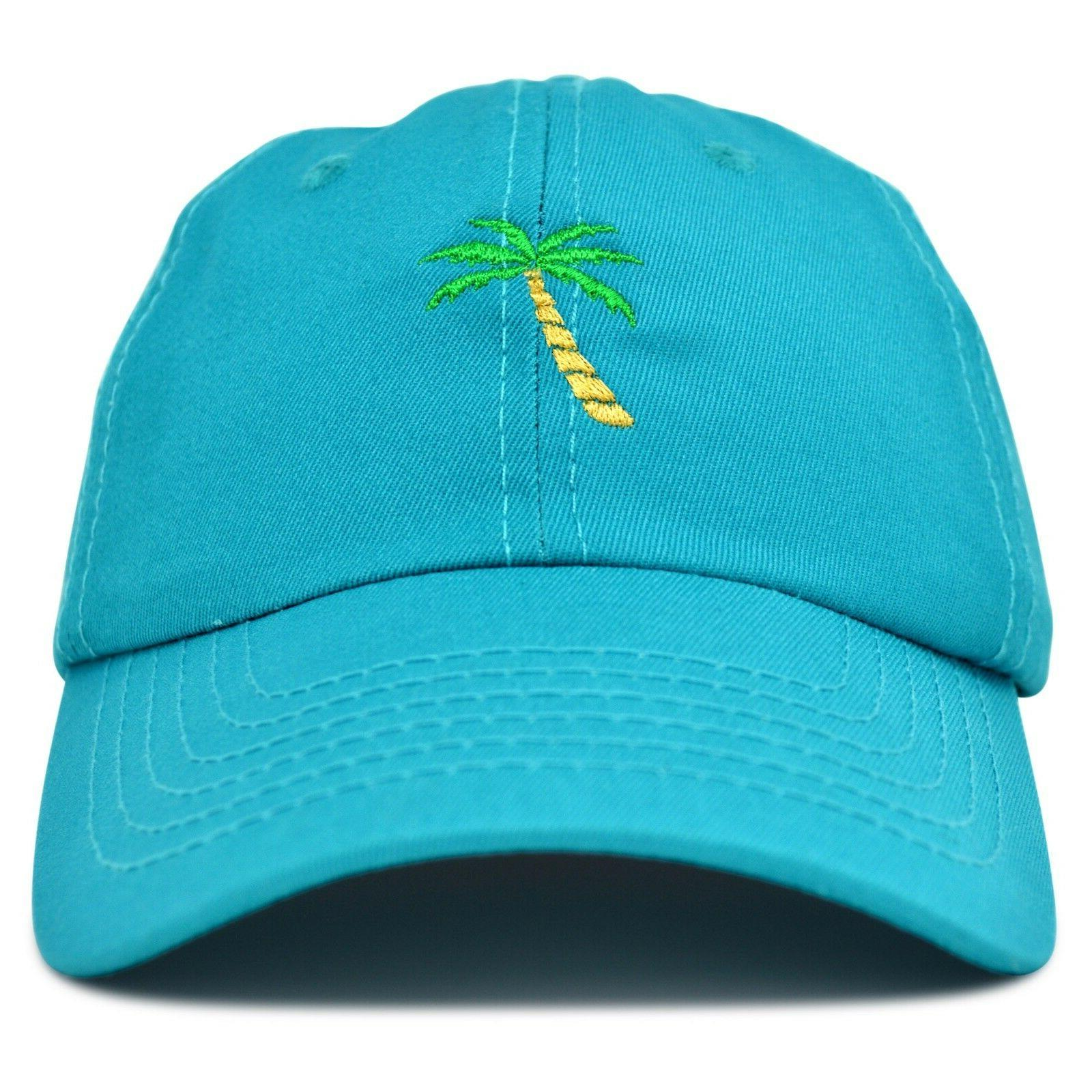 DALIX Dad Hats Tree Baseball Trucker Caps in Teal