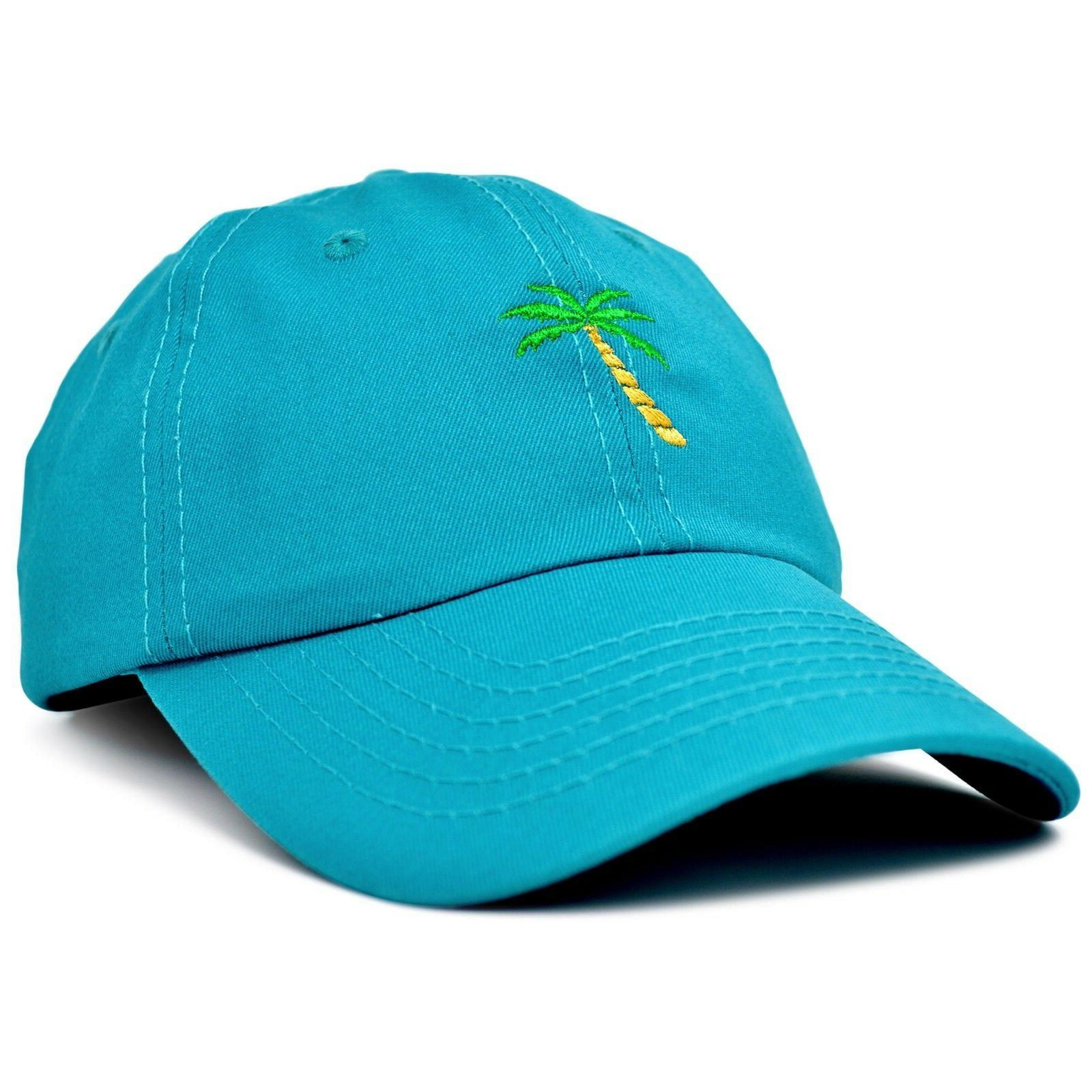 DALIX Dad Hats Palm Tree Baseball Cap Trucker Caps Mens Wome