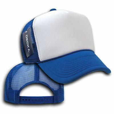 DECKY Snapback Cap Hat 2tone Foam Trucker Mesh Caps Hats Cur