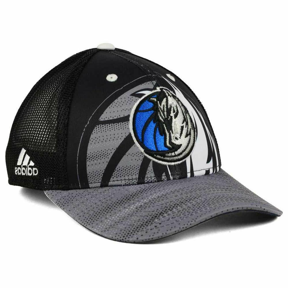 Dallas Mavericks Adidas NBA Shadow Trucker Mesh Snapback Adj