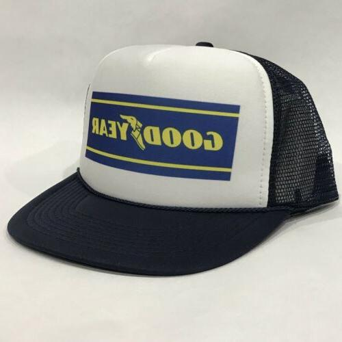 Good Year Tires Promo Trucker Hat Vintage 80's Mesh Back S