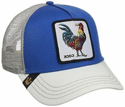937f7b09 Goorin Bros. Men's Animal Farm Snap Back Trucker Hat Royal B