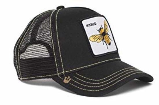 ea214ee2332a8e Goorin Bros. Men's Queen Bee Animal Farm Trucker Cap, Black,