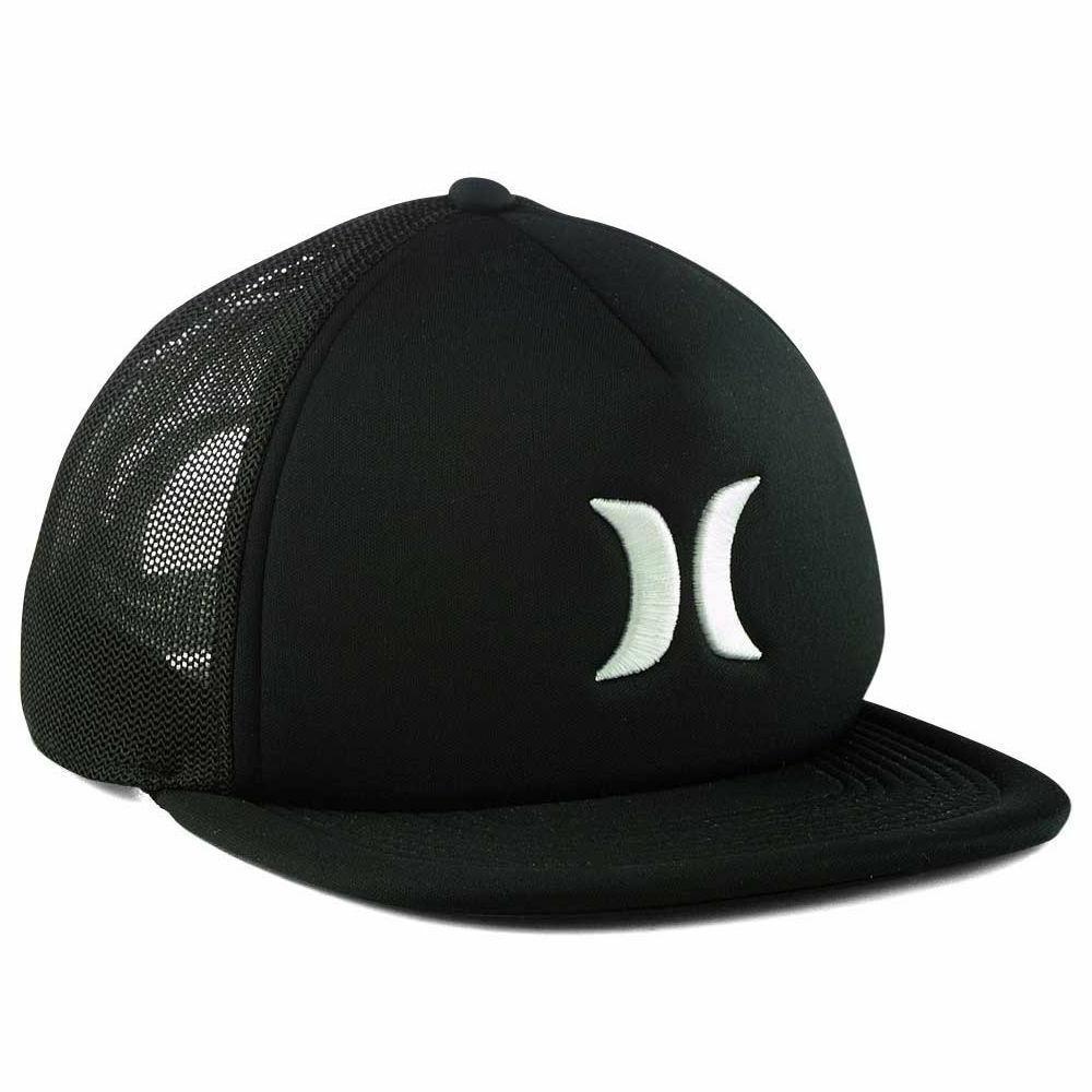 Hurley Trucker Adjustable Snapback Mesh Cap Hat Flat Bill Br