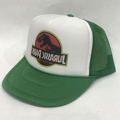 Jurassic Park Movie Promo Trucker Hat Vintage 90's Mesh Ba
